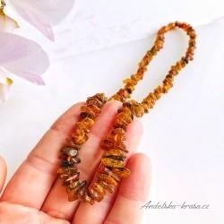 Jantarový náhrdelník (ochrana)