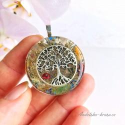 Orgonitový náhrdelník Rovnováha Klid Intuice