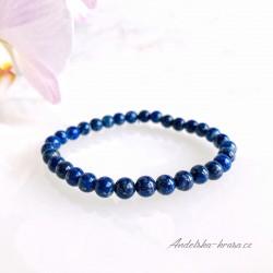 Náramek Lapis lazuli - drobný