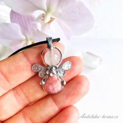 Náhrdelník Anděl Láska Naděje