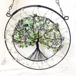 Drátovaný Strom Života 4.čakra UVOLNĚNÍ