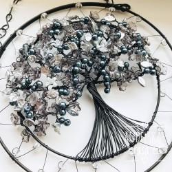 Drátovaný Strom Života VĚDOMÍ 20 cm