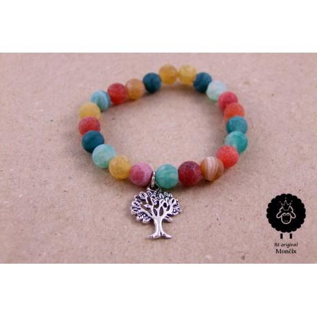 Achátový náramek - strom života