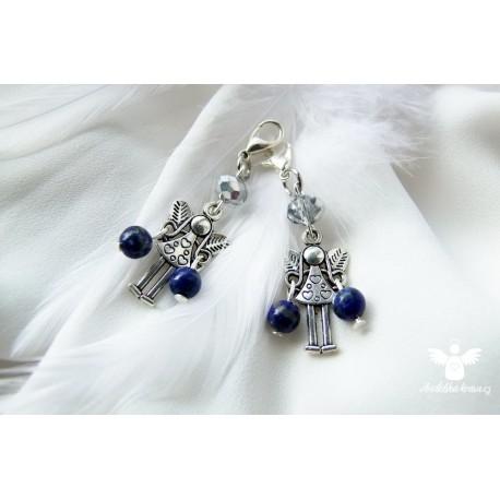 Andělka s lapisem lazuli