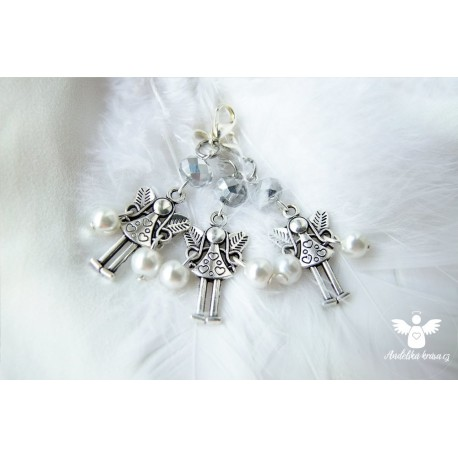 Andělka s perličkami