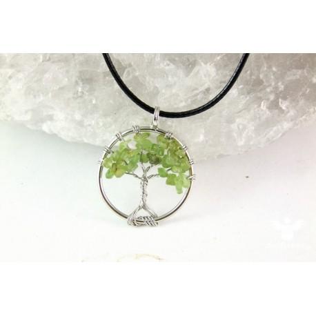 """Náhrdelník strom života """"Olivín"""""""