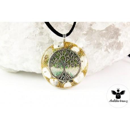 """Orgonitový náhrdelník """"Kreativita a paměť"""""""