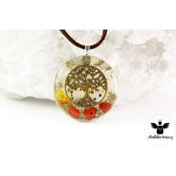 Orgonitový náhrdelník Energie života
