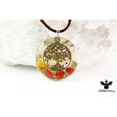 "Orgonitový náhrdelník ""Energie života"""