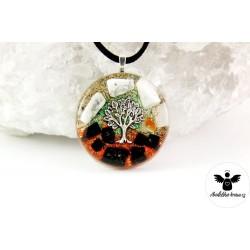 Orgonitový náhrdelník Magický Jin – Jang