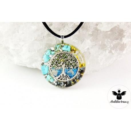 """Orgonitový náhrdelník """"Tělo a duše"""""""