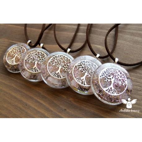 """Orgonitový náhrdelník """"Láska a věrnost"""""""
