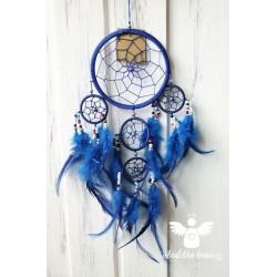 Lapač snů - modrý velký