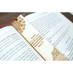 """Záložka do knihy """"mandala"""""""