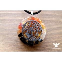 Orgonitový náhrdelník Sebevědomí nadhled