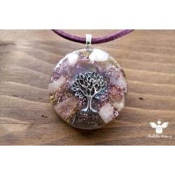 Orgonitový náhrdelník Srdeční čakra