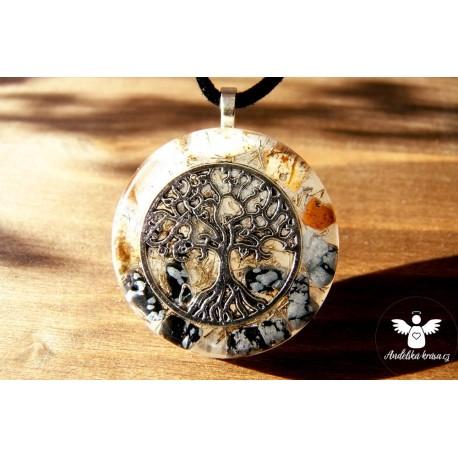 """Orgonitový náhrdelník """"Uvědomění si sám sebe"""""""