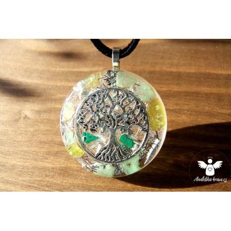 """Orgonitový náhrdelník """"Štěstí, rovnováha"""""""