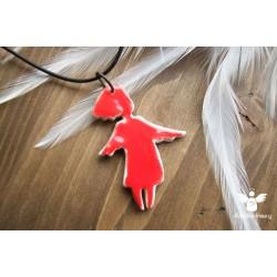 Náhrdelník anděl Valentýnek