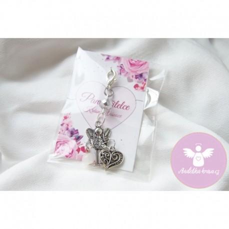 Andělka klíčenka fialová