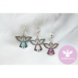 Andělka s achátem fialová