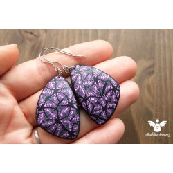 Fialové mozaikové- ocel