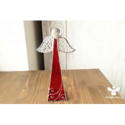 Andílek svícen - velký červený
