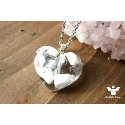 Orgonitový náhrdelník Soulad ocel