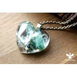 Orgonitový náhrdelník Štěstí, vztahy ocel