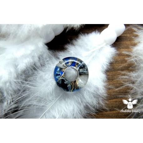 Korálek hladký lapis lazuli meditace 6. čakra
