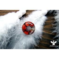 Korálek broušený karneol přivolávač štěstí