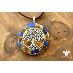 Orgonitový náhrdelník meditace 6. čakra
