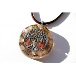 Orgonitový náhrdelník láska rovnováha