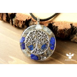 Orgonitový náhrdelník meditace klid