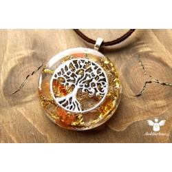 Orgonitový náhrdelník zdraví odvaha