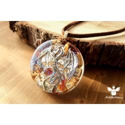 Náhrdelník drak odvaha regenerace
