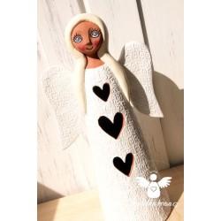 Anděl Ochránce Posel lásky VELKÝ 30cm