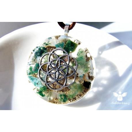 Náhrdelník Strom života 7.čakra Spiritualita, vědomí, klid