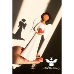 Anděl Láska a Ochrana 20cm 2