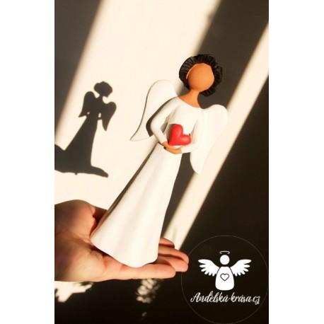 Anděl Láska a Ochrana 20cm