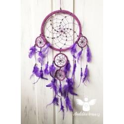 Lapač snů - fialový VELKÝ