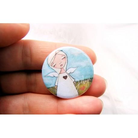 Button - brož s Vaší fotografií / textem / motivem