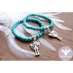 Náramek Anděl Ochrana 5.čakra