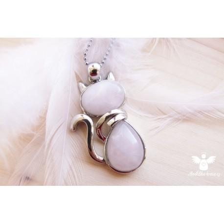 Náhrdelník Anděl Růženín 4.čakra Láska