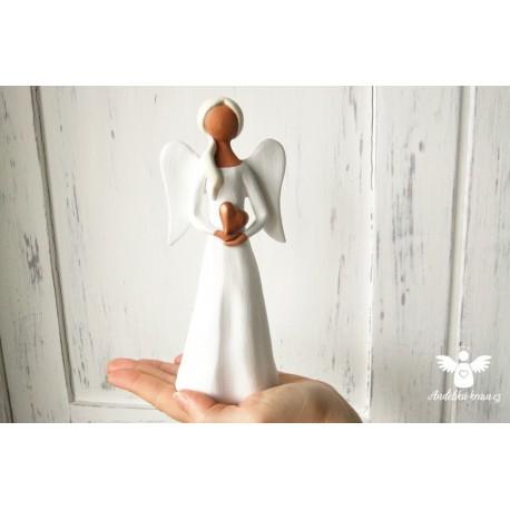 Anděl Ochrana Splnění přání 20cm 4