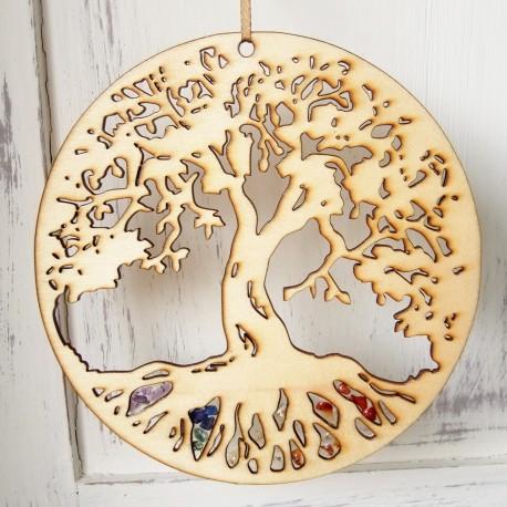 Strom života dřevěný 20cm