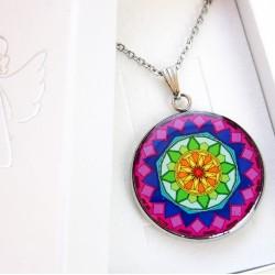 Anděl náhrdelník (ocel, voděodolný)
