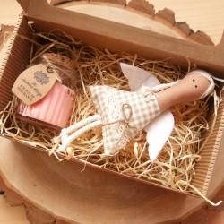 Andělský dárek Andělka + Jasmínová svíčka