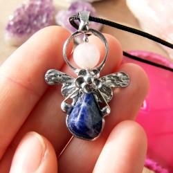 Náhrdelník Anděl Lapis Lazuli Klid Koncentrace