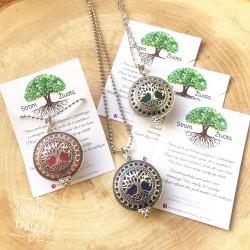 Aroma éterický náhrdelník Strom života